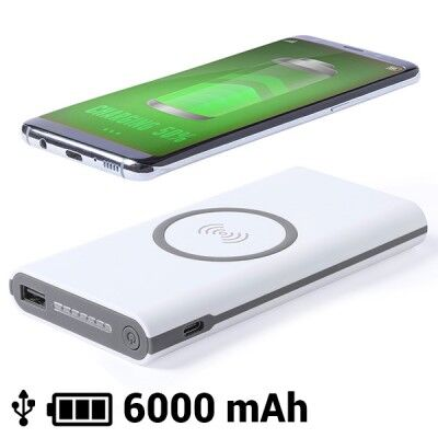 Power Bank Inalámbrico 6000...