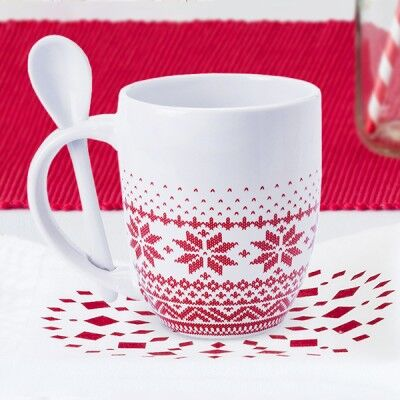 Taza con Cucharita (370 ml)...