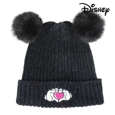 Gorro Minnie Mouse 74302 Negro