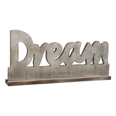 Letrero de Madera Dream 110792