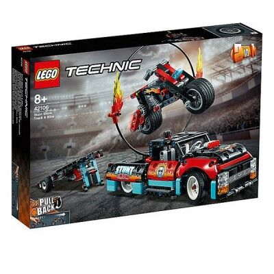 Playset Technic Stunt Show...